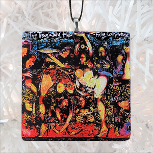 The Tragically Hip Fully Completely Album Cover Glass Ornament by BBJ