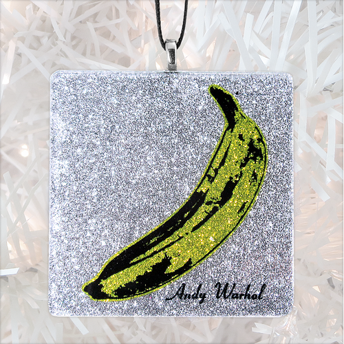The Velvet Underground & Nico Album Cover Glass Ornament by BBJ