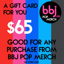 Load image into Gallery viewer, BBJ Pop Merch gift card