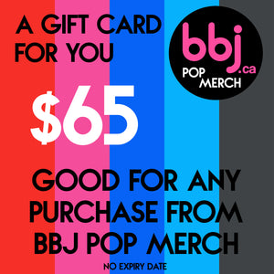 BBJ Pop Merch gift card