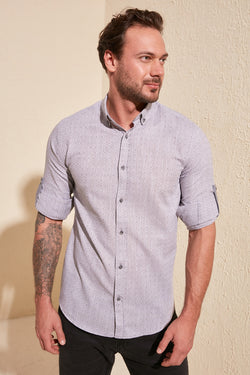 Heren Slimfit Shirt