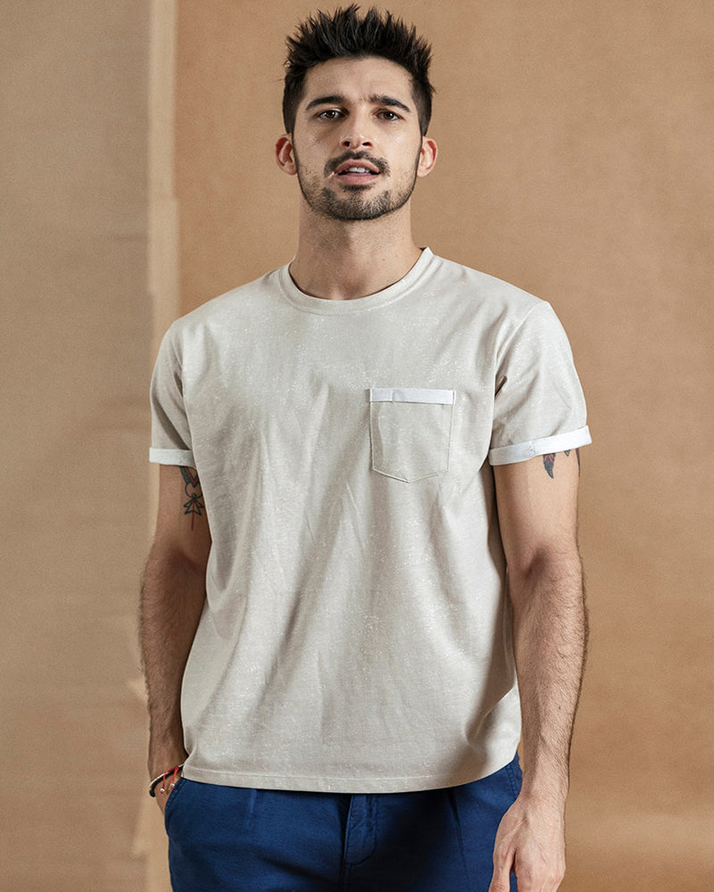 Heren Borst zak Casual T-shirt