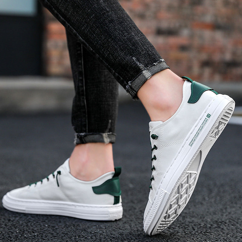 Heren Stylish Canvas Kant-op Sneaker