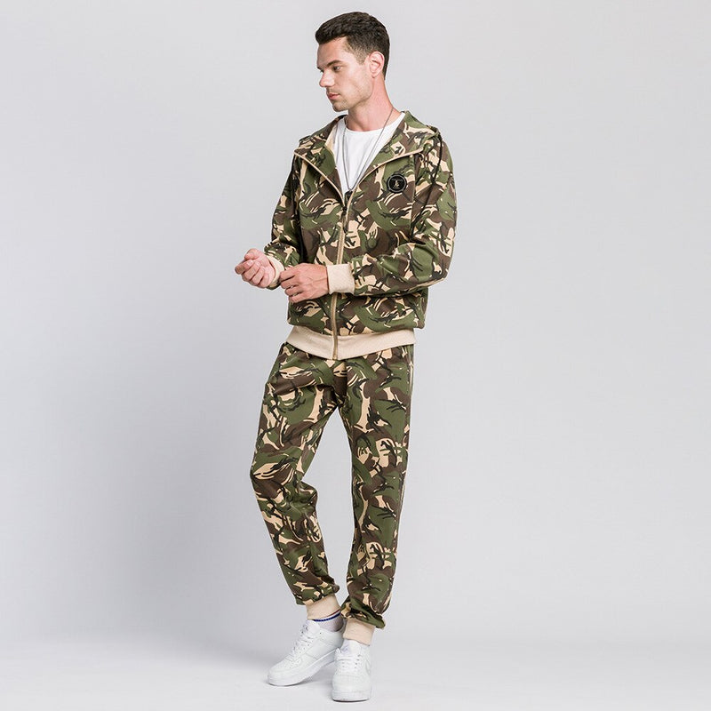 Heren Camouflage Trainingspak