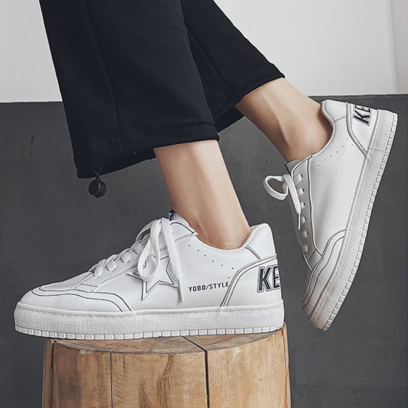 Heren Casual Kant-op Canvas Schoen