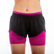 Visigo Yunfeng Purple Double Shorts W6ST8002714