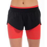 Visigo Yunfeng Flame Red Double Shorts W6ST8002113