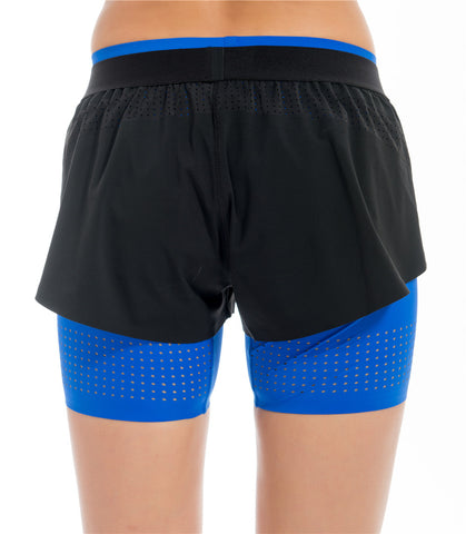 Visigo Yunfeng Light Blue Double Shorts W6ST8002603