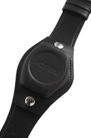 Ruse Black Leather Strap