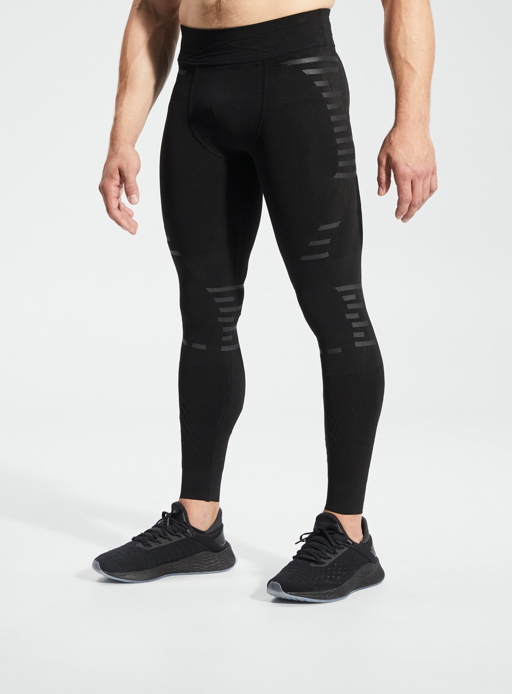 Load image into Gallery viewer, Men knee braces, knee support tights, compression pants