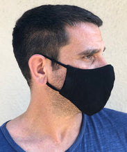 Load image into Gallery viewer, Hemp and Organic Cotton Ear Loop Mask