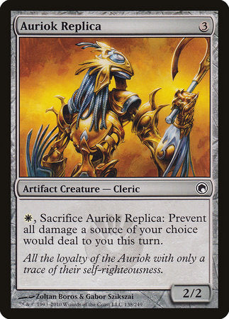 Auriok Replica [Scars of Mirrodin] | Power On Games