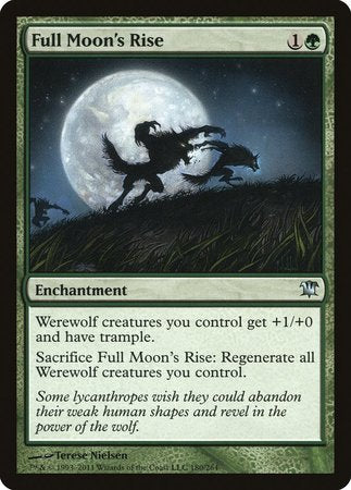 Full Moon's Rise [Innistrad] | Power On Games