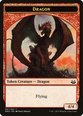 Dragon Token [Modern Masters 2017 Tokens] | Power On Games