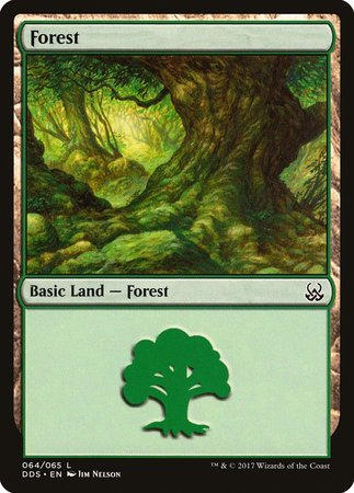 Forest (64) [Duel Decks: Mind vs. Might] | Power On Games