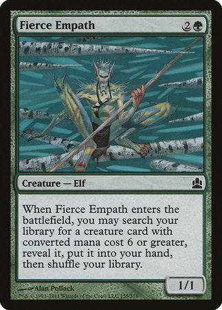 Fierce Empath [Commander 2011] | Power On Games