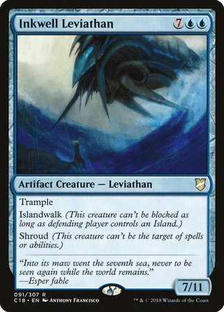 Inkwell Leviathan [Commander 2018] | Power On Games