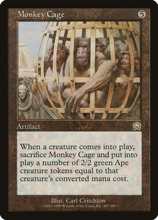 Monkey Cage [Mercadian Masques] | Power On Games