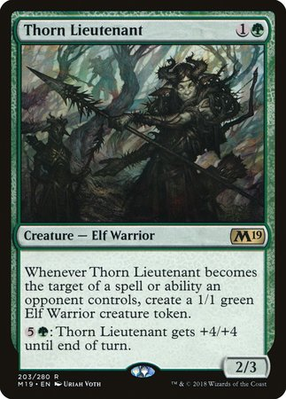 Thorn Lieutenant [Core Set 2019] | Power On Games
