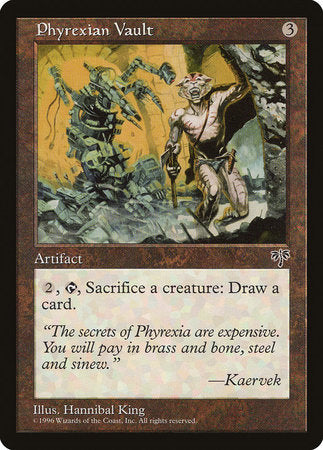 Phyrexian Vault [Mirage] | Power On Games