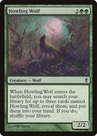 Howling Wolf [Conspiracy] | Power On Games