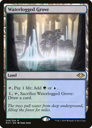 Waterlogged Grove [Modern Horizons] | Power On Games
