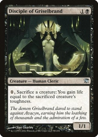 Disciple of Griselbrand [Innistrad] | Power On Games