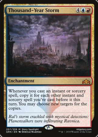 Thousand-Year Storm [Guilds of Ravnica] | Power On Games