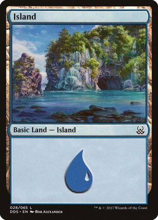 Island (28) [Duel Decks: Mind vs. Might] | Power On Games