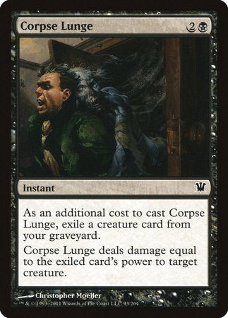 Corpse Lunge [Innistrad] | Power On Games