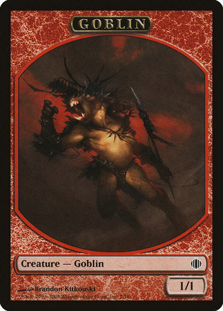 Goblin Token [Shards of Alara Tokens] | Power On Games