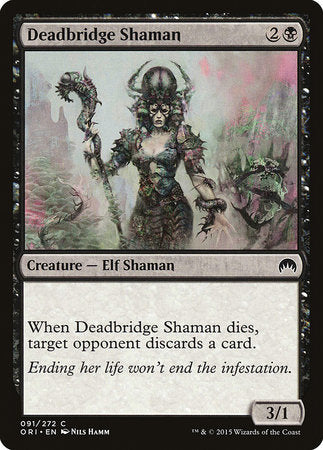 Deadbridge Shaman [Magic Origins] | Power On Games