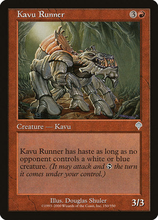 Kavu Runner [Invasion] | Power On Games