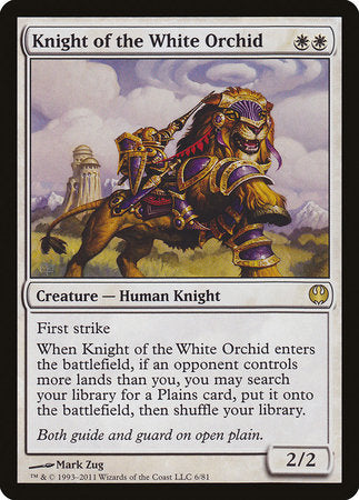 Knight of the White Orchid [Duel Decks: Knights vs. Dragons] | Power On Games