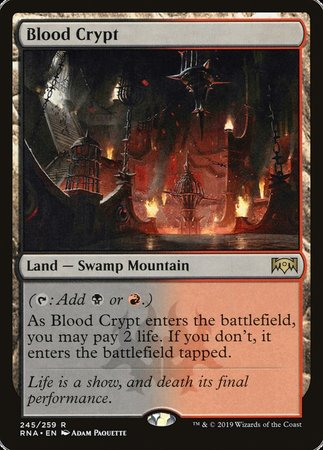 Blood Crypt [Ravnica Allegiance] | Power On Games