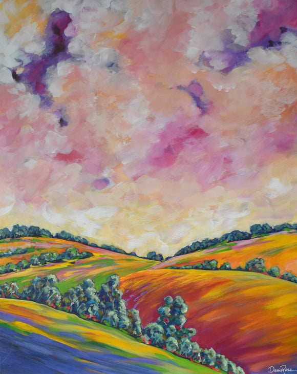 Golden Plains (76x61cm)
