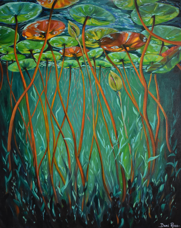 What lies beneath (61x76cm)
