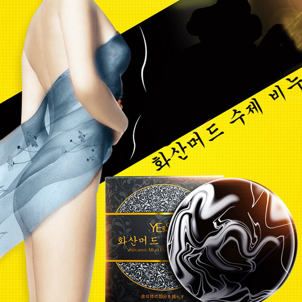 Volcanic Clay Coffee Slimming Soap Bar Skin Whitening Body Clear