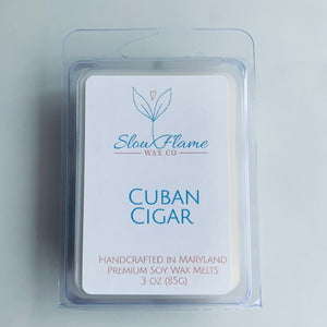 Cuban Cigar Wax Melts