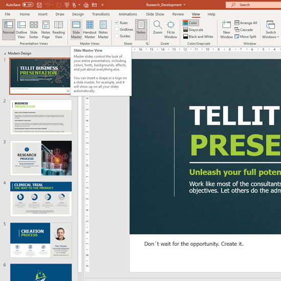 How to edit Master Slide in your PowerPoint presentation