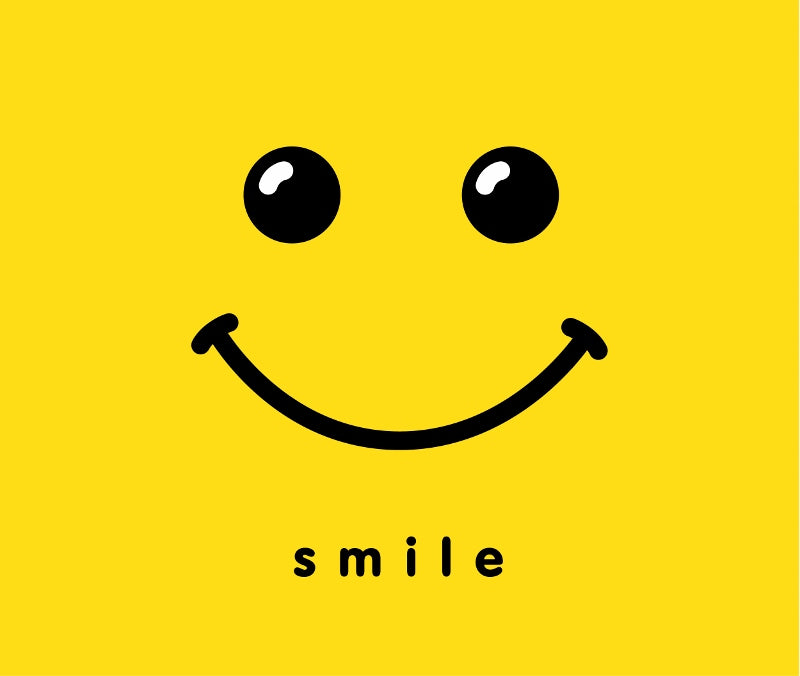 Smile - your audience will feel the difference
