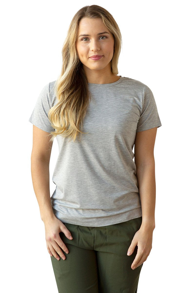 Women's Bamboo Cotton Short-Sleeve T-Shirt - BauBax