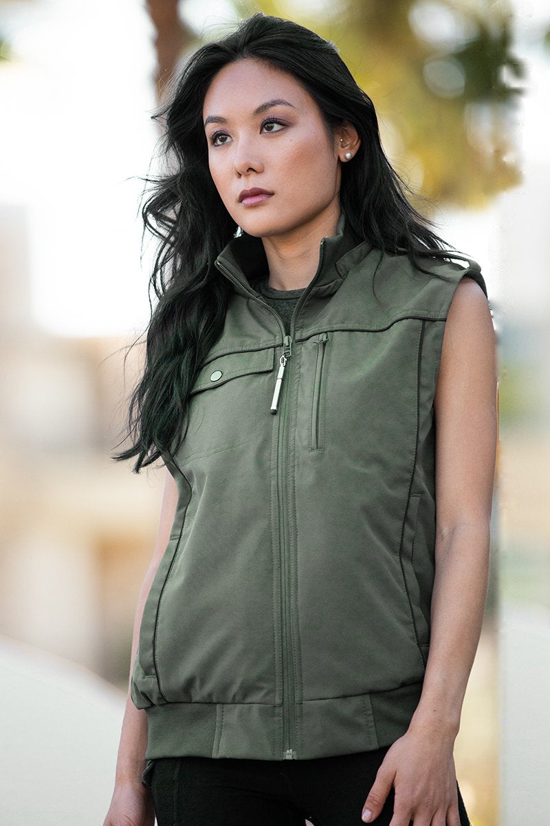 Women's Vests with Pockets - BauBax