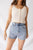 Molly Paperbag High Rise Denim Shorts