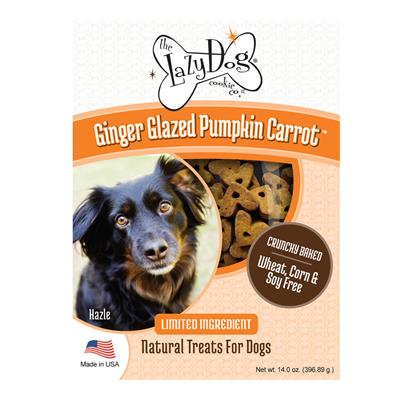 Ginger Glazed Pumpkin Carrot Dog Treats