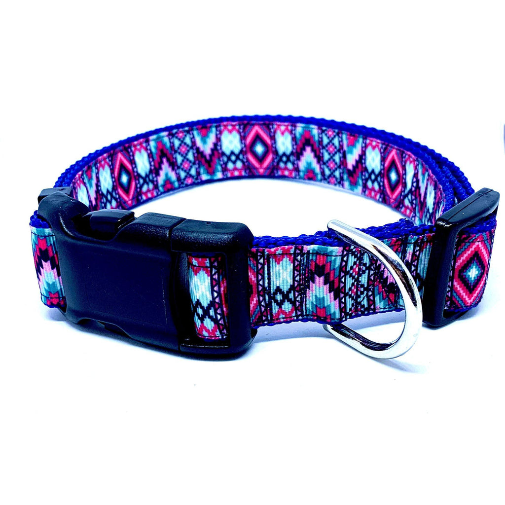 Aztec - Light Blue & Pink - Pets Supply Depot