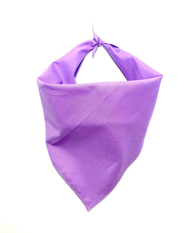 Personalized Plain Colored Tie-On Bandanas