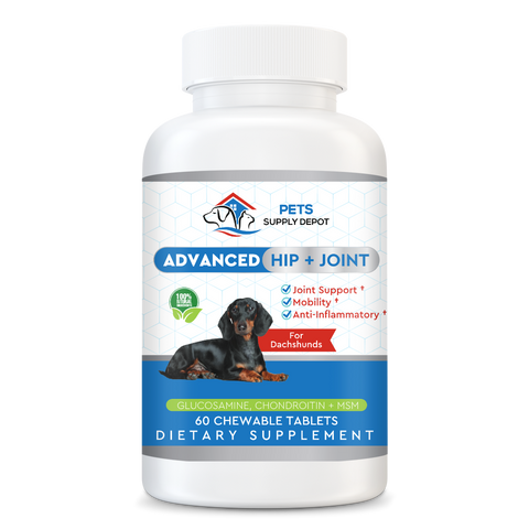 Hip & Joint Support With Glucosamine For Dachshunds