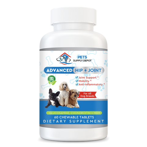 Hip & Joint Support With Glucosamine For All Dog Breeds
