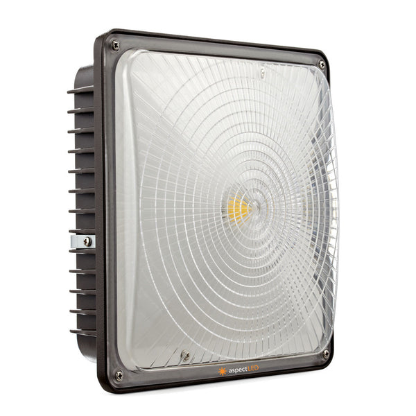 Low Profile 70w Led Parking Ramp Garage Canopy Light